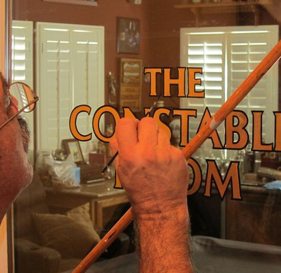 The Mahl Stick Sign Smith Sign Painting Hand Lettering